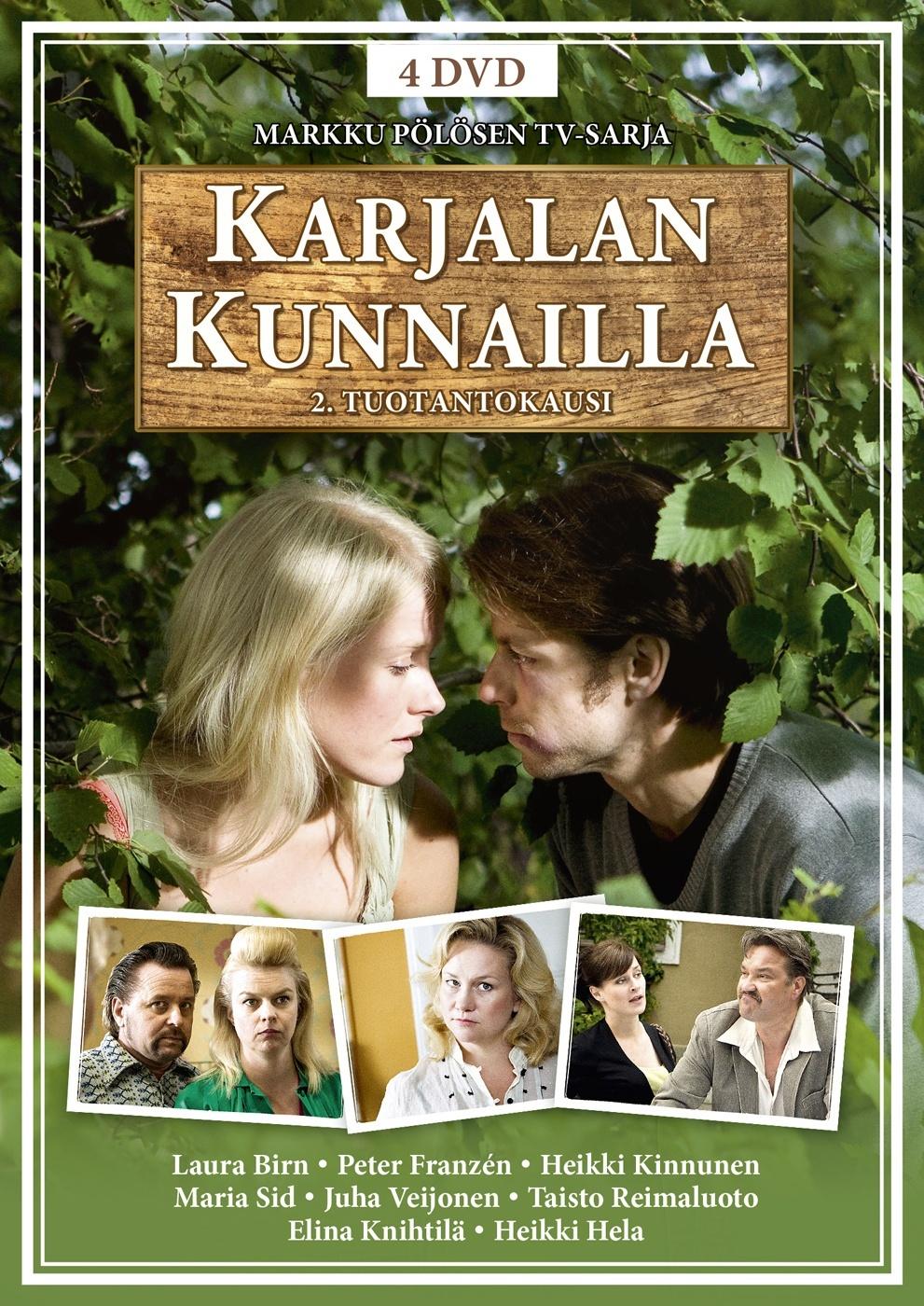 Karjalan Kunnailla Näyttelijät