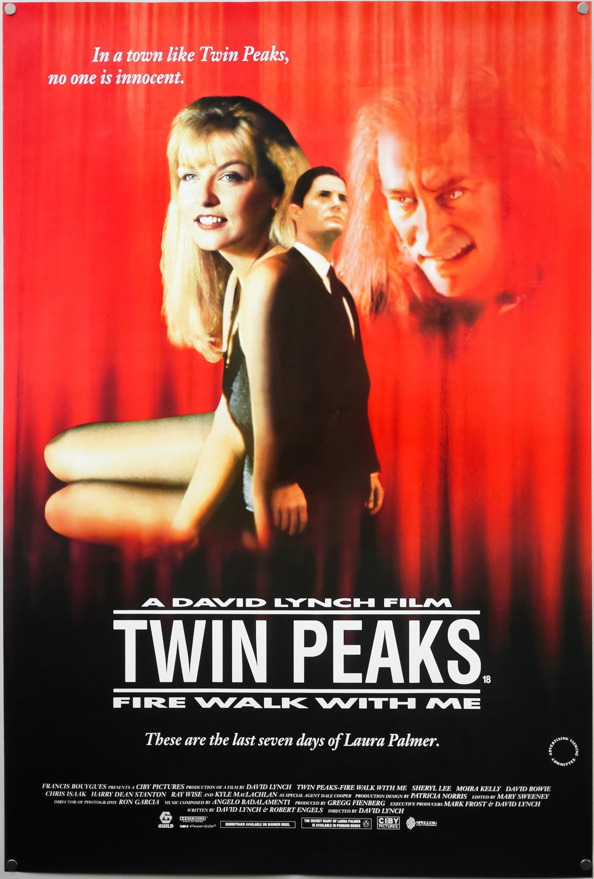 Image result for twin peaks fire walk with me poster